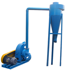 electric_feed_hammer_mill_with_cyclone