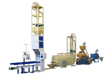 pellet packing machine for fish_feed_pellet_plant