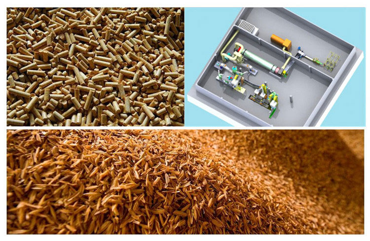 rice husk_pellet_plant_in_Thailand