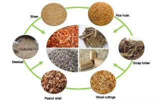 Biomass Pellet Making in Rice Industry