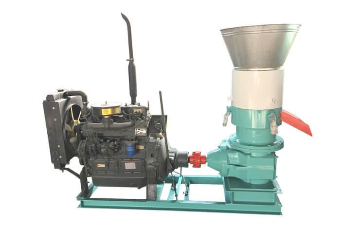 Diesel Flat Die Pellet Mill