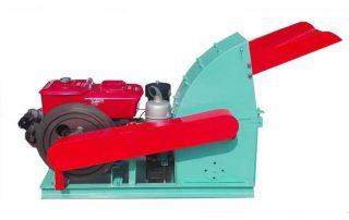 Diesel Wood Hammer Mill
