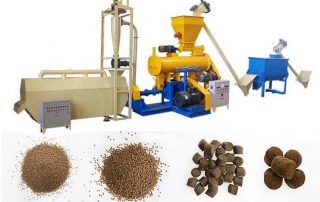How to Make Extruded Sinking Fish Feed Pellets